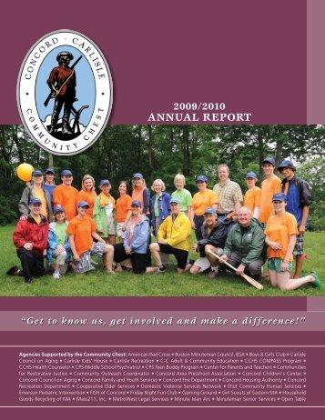 AnnuAl RepoRt - Concord-Carlisle Community Chest