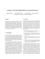 Aquarium: An Extensible Billing Platform for Cloud Infrastructures