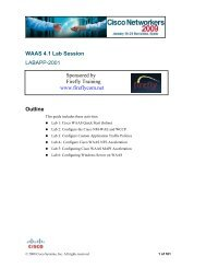 Cisco EVC Infrastructure