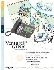 Download the Venture IP Data Sheet (pdf format) - Aastra