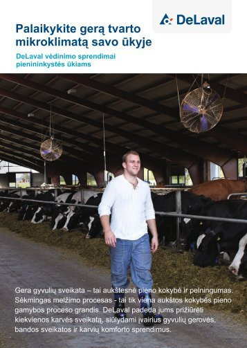 Parsiųskite DeLaval vėdinimo sprendimai pienininkystės ūkiams ...