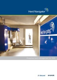 Read more about Herd Navigator for VMS - DeLaval