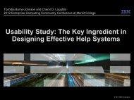 Download Presentation - Enterprise Computing Community - Marist ...