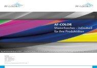 AF-COLOR - KD Feddersen Holding GmbH