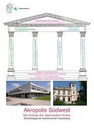 Akropolis Südwest - Kantonsschule Freudenberg