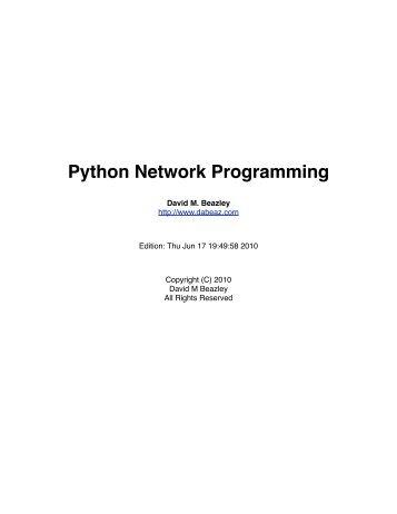 PythonNetBinder