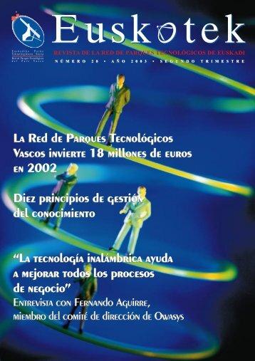 Número 20 - Red de Parques Tecnológicos de Euskadi