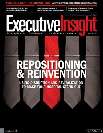 1 Executive Insight - Community Memorial Health System