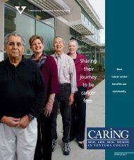 Caring for the - Community Memorial Health System