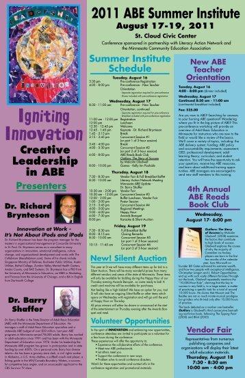 information - Minnesota Community Education Association