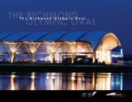 Richmond Olympic Oval - Canadian Wood Council
