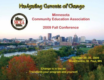 Navigating Currents of Change - Minnesota Community Education ...
