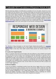 6 Undeniable SEO Conveniences of Responsive Website design