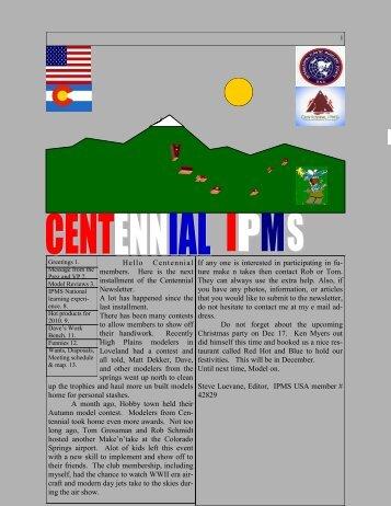 November 2010 - Centennialipms.org