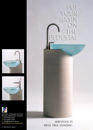 Put Your Basin On The Pedestal - ID Studio