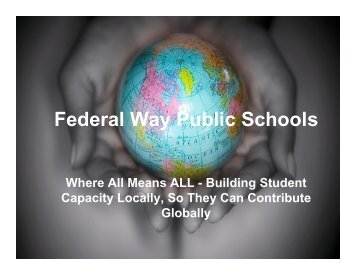 Federal Way Public Schools - wsascd