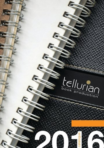 Tellurian | 2016 Customized Corporate Diaries and Notebooks in Dubai, UAE