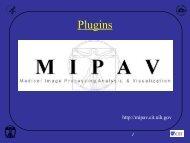 Plugins - mipav