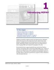 Introducing MIPAV