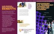 Membership Brochure - CoSN