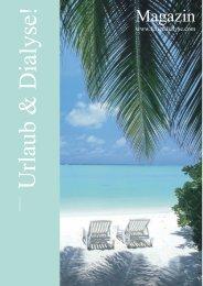 dt. Urlaub und Dialyse Katalog 2010 - Feriendialyse Dr. Berger