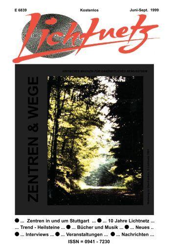 Zentren in und um Stuttgart ... ... 10 Jahre Lichtnetz ... ... Trend
