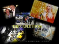 The Cable Show - Red Carpet Concierge