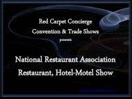 Restaurant - Red Carpet Concierge
