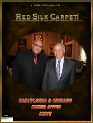 Monday, April 11 - Red Carpet Concierge