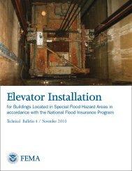 Elevator Installation - Federal Emergency Management Agency