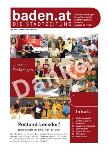 Ausgabe 03/11 - Baden