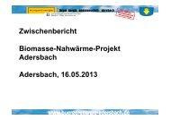 Präsentation hier anklicken - BürgerEnergiegenossenschaft