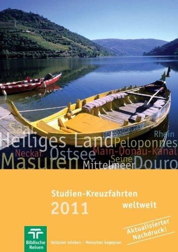 Kreuzfahrten 2011-NACHDRUCK _NEU:Layout 1 - Biblische Reisen