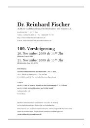 1. 3. 5. - Dr. Reinhard Fischer Briefmarken Auktions