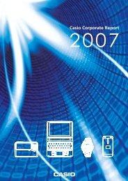 Casio Corporate Report - Cecodes