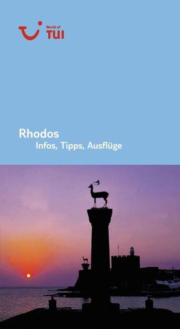 TUI - Infos, Tipps, Ausflüge: Rhodos - Giata