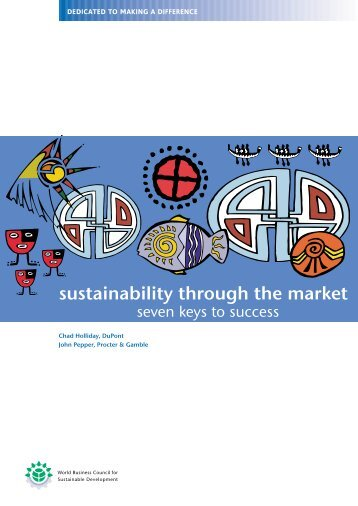 sustainability through the market - Cecodes