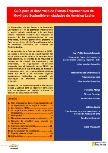 Guía para el desarrollo de Planes Empresariales de ... - Cecodes