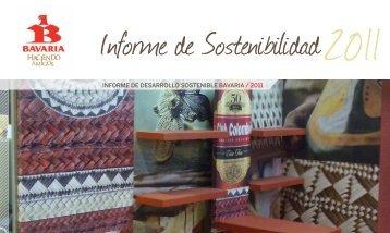 informe de deSArroLLo SoStenibLe bAvAriA / 2011 - Cecodes