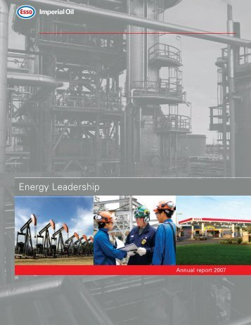Imperial Oil Limited - Annual Report 2007 - Cecodes