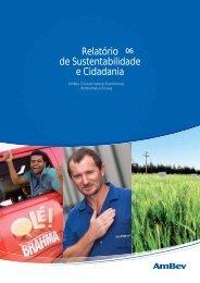 Relatório de Sustentabilidade e Cidadania - Cecodes