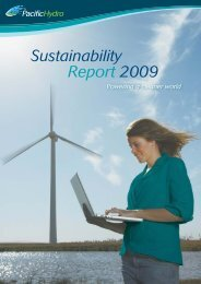 Sustainability Report 2009 - Cecodes