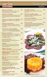 @ We - Aria Cucina Italiana