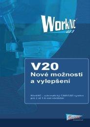 WorkNC V20 přináší vyšší produktivitu s novými strategiemi obrábění