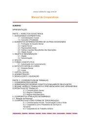 Manual de Cooperativas - bons cursos