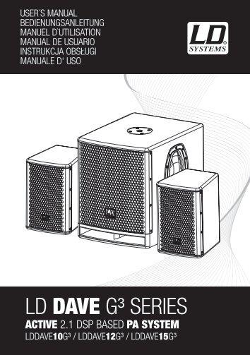 LD DAVE G³ SERIES - Everen