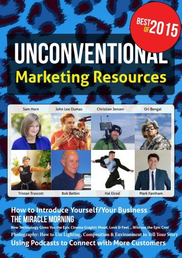 Unconventional Marketing Resources