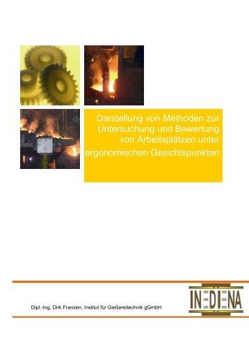 Darstellung von Methoden zur Untersuchung und ... - INDINA