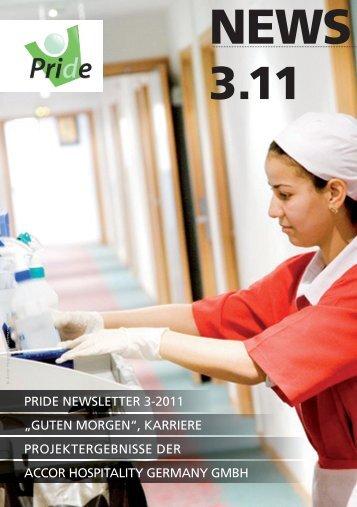 """PRIDE NEWSLETTER 3-2011 """"GUTEN MORGEN"""", KARRIERE ..."""