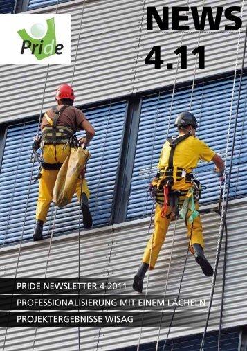 vierten Ausgabe des PRIDE-Newsletters